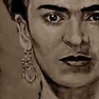 FRIDA KAHLO - sepia by ARTito