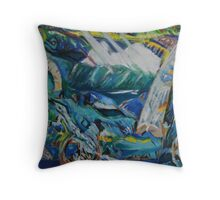 St Brendans Voyage 2 Throw Pillow