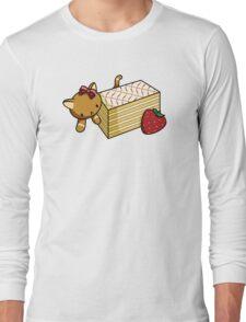 Mille Feuille Kitty Long Sleeve T-Shirt