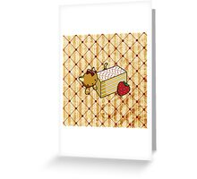 Mille Feuille Kitty Greeting Card