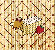 Mille Feuille Kitty by fushiginaringo