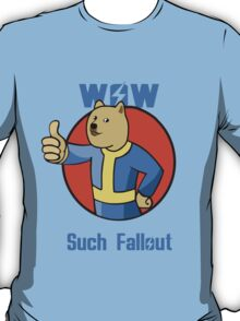 Wow Such Fallout T-Shirt