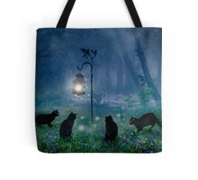 The Witches Cats Tote Bag