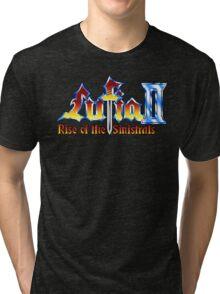 Lufia 2 (SNES) Title Screen Tri-blend T-Shirt