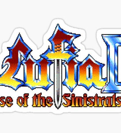 Lufia 2 (SNES) Title Screen Sticker