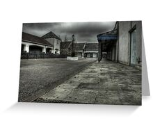 Walk these streets alone Greeting Card