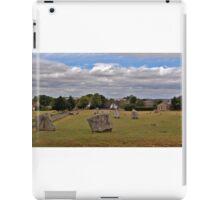 Avebury Afternoon A iPad Case/Skin