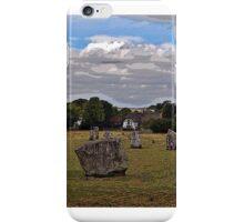 Avebury Afternoon C iPhone Case/Skin