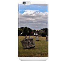 Avebury Afternoon D iPhone Case/Skin