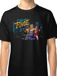 Streets of Rage (Genesis) Title Screen Classic T-Shirt