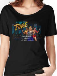 Streets of Rage (Genesis) Title Screen Women's Relaxed Fit T-Shirt