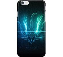 Thresh Emblem Logo Graphic Design iPhone Case/Skin