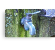 Old fashioned tap! - New Zealand Canvas Print