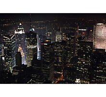 View Of New York Photographic Print