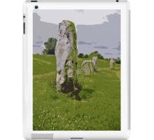 Avebury Circle B iPad Case/Skin