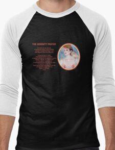 The Serenity Prayer 4 Men's Baseball ¾ T-Shirt