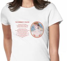 The Serenity Prayer 4 Womens Fitted T-Shirt
