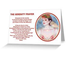 The Serenity Prayer 4 Greeting Card