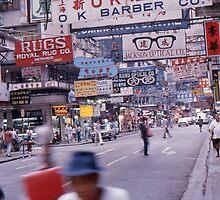 Fabulous Hong Kong Street Scene by Stuart Blythe