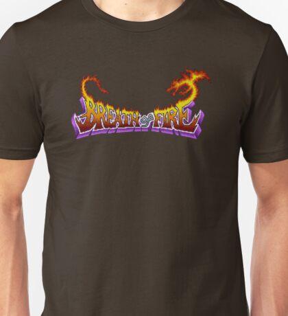 Breath of Fire (SNES) Title Screen Unisex T-Shirt