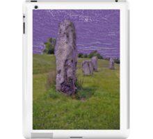 Avebury Circle E iPad Case/Skin