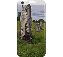 Avebury Circle F iPhone Case/Skin