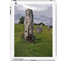 Avebury Circle F iPad Case/Skin