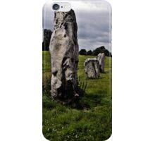 Avebury Circle H iPhone Case/Skin