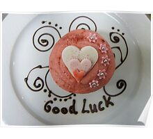 Good Luck!! - Cupcake By Haydene - NZ Poster
