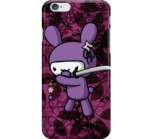 Girly Ninja Bunny iPhone Case/Skin