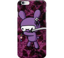 Girly Ninja Bunny iPhone Case/Skin