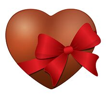 Valentine Chocolate Heart by enlife