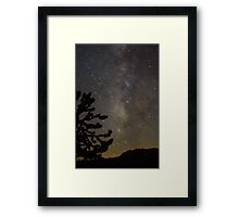 Mojave Night Framed Print