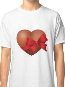 Valentine Chocolate Heart Classic T-Shirt