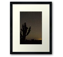 Mojave Night 2 Framed Print
