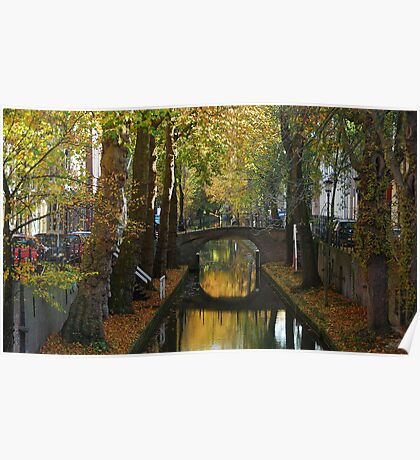 Dreaming of autumnal Utrecht Poster