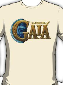 Illusion of Gaia (SNES) Title Screen T-Shirt