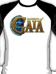 Illusion of Gaia (SNES) Title Screen T-Shirt