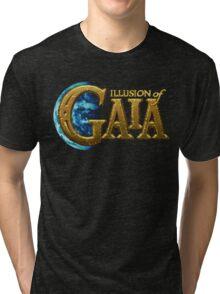 Illusion of Gaia (SNES) Title Screen Tri-blend T-Shirt