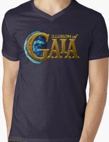Illusion of Gaia (SNES) Title Screen Mens V-Neck T-Shirt