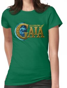 Illusion of Gaia (SNES) Title Screen Womens Fitted T-Shirt