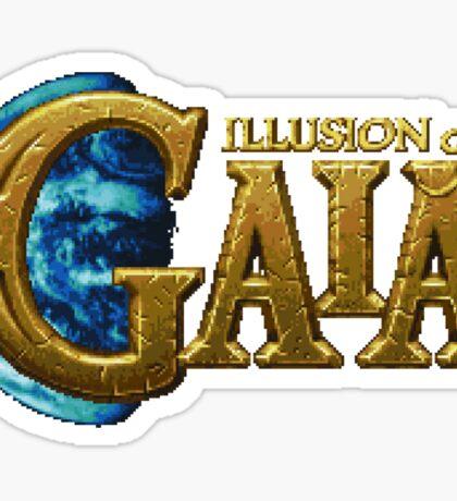 Illusion of Gaia (SNES) Title Screen Sticker