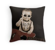 Youngest Rock Star!!! Throw Pillow