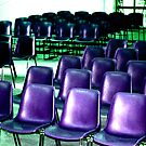Purple Chairs by Abi Skeates
