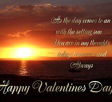 setting sun card by cynthiab
