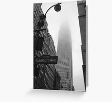 Empire State Building, NYC Greeting Card