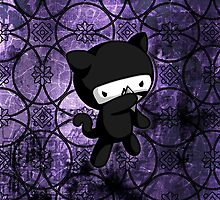 Ninja Kitty by fushiginaringo