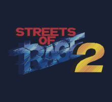 Streets of Rage 2 (Genesis) Title Screen by AvalancheShirts