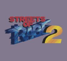 Streets of Rage 2 (Genesis) Title Screen Kids Tee