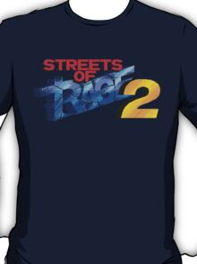 Streets of Rage 2 (Genesis) Title Screen T-Shirt